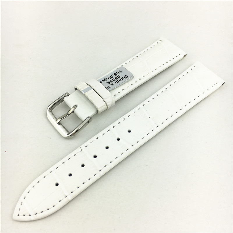 Durable men women Genuine Leather watch strap for men &women 12 13 14 16 18  20  22 24mm genuine leather Watch for Longines men without women