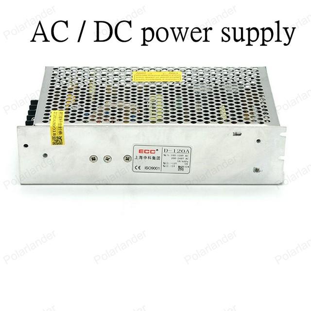 Seguro de qualidade simples operação AC/DC 12V120W fonte de alimentação dupla saída Unidade da fonte de alimentação Transformador de Iluminação LED strip