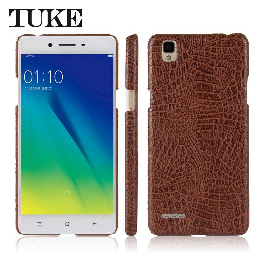 Hot Sale Tuke Crocodile Pattern Case For Oppo F1 A35 Mobile Phone