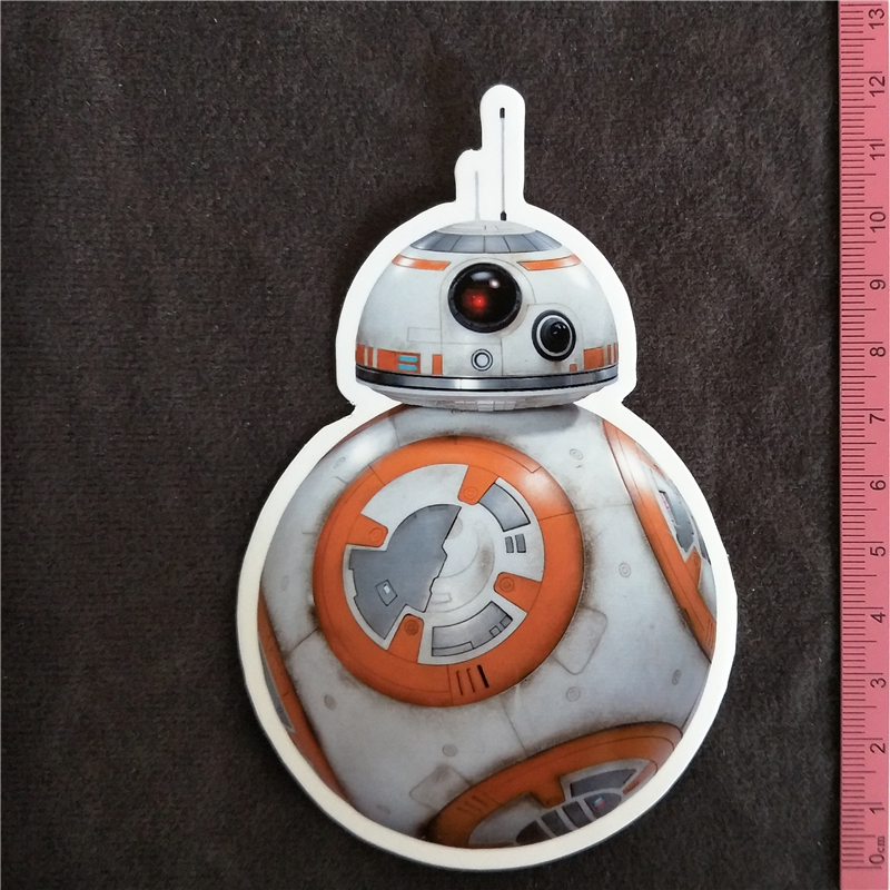 Y084# Star Wars BB8 PVC Sticker Home Decor Fridge Styling Wall Travel Suitcase Graffiti Styling Stickers Buy 3 Get 4
