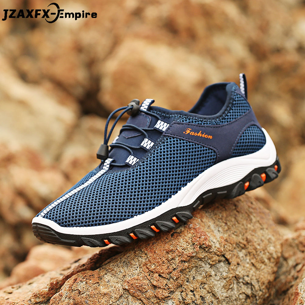 2018 New Walking Mesh Shoes Men Casual Breathable Shoes tenis masculino adulto Spring Summer Sneaker For men