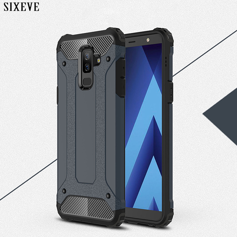 SIXEVE Hybrid-Armor-Case Hard-Rugged Note 9-Protective Back-Cover Edge-Plus S9 Samsung Galaxy