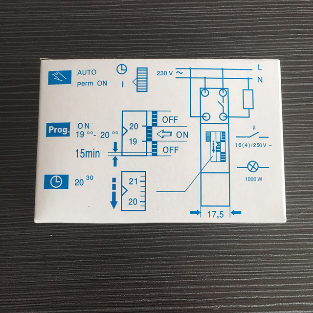 Free Shupping SUL180a 220VAC Din Rail Timer 24 Hours 15 Minutes Programable Timer SUL180a