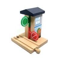 P106 gratis verzending verkeerslichten commando kamer speciale spoor accessoires compatibel thomas hout track kinderen educatief toys