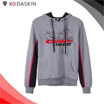 KODASKIN Men Cotton Round Neck Casual Printing Sweater Sweatershirt Hoodies for CBF1000 cbf1000