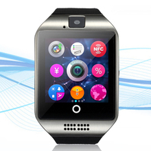 Bluetooth Q18 Smart Watch With Camera Sleep Monitor Facebook Twitter Calcola Music Dial Support SD Card For Android Watch Phone