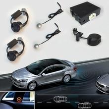 Автомобиль Blind Spot Заднего Датчики Парковки Помощи Системы Для Авто Радар Backup Kit 2 Датчики Обратный 2 СВЕТОДИОДНЫЙ Индикатор 1 Зуммер
