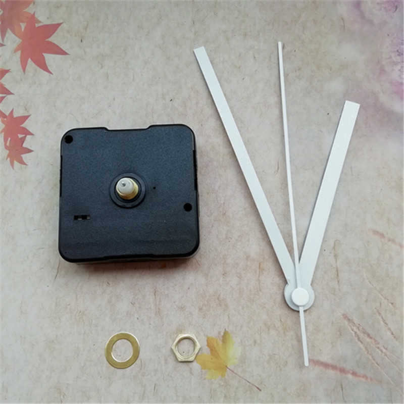 Best Seller Supplier 500PCS No Tic Sweep Quartz Clock Movement Kit with White Clock Hands DIY