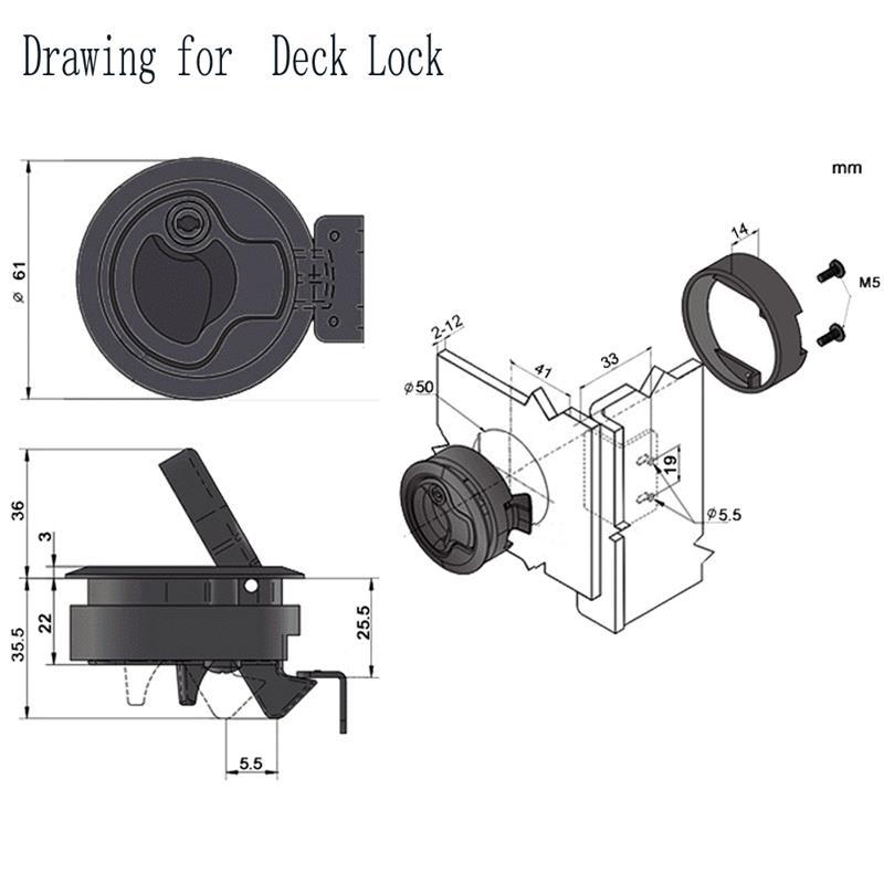 montagem hatch elevador para yatch barco marinho 05