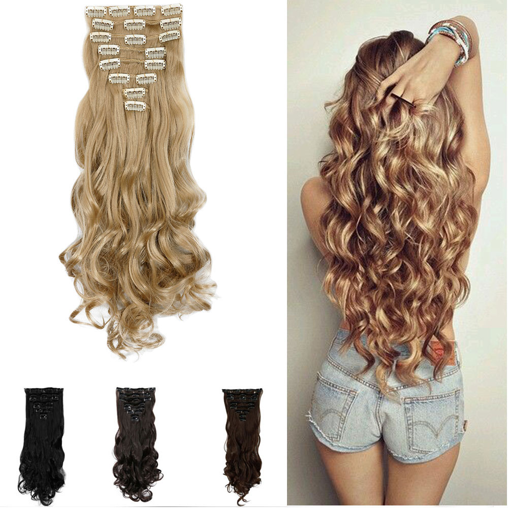 Individual Hair Extension Clips Human Hair Extensions
