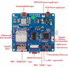 Аркада видео Выход платы преобразователя VGA/RGB/cga/EGA/YUV К HDMI HD/JAMMA для аркадная игра машина