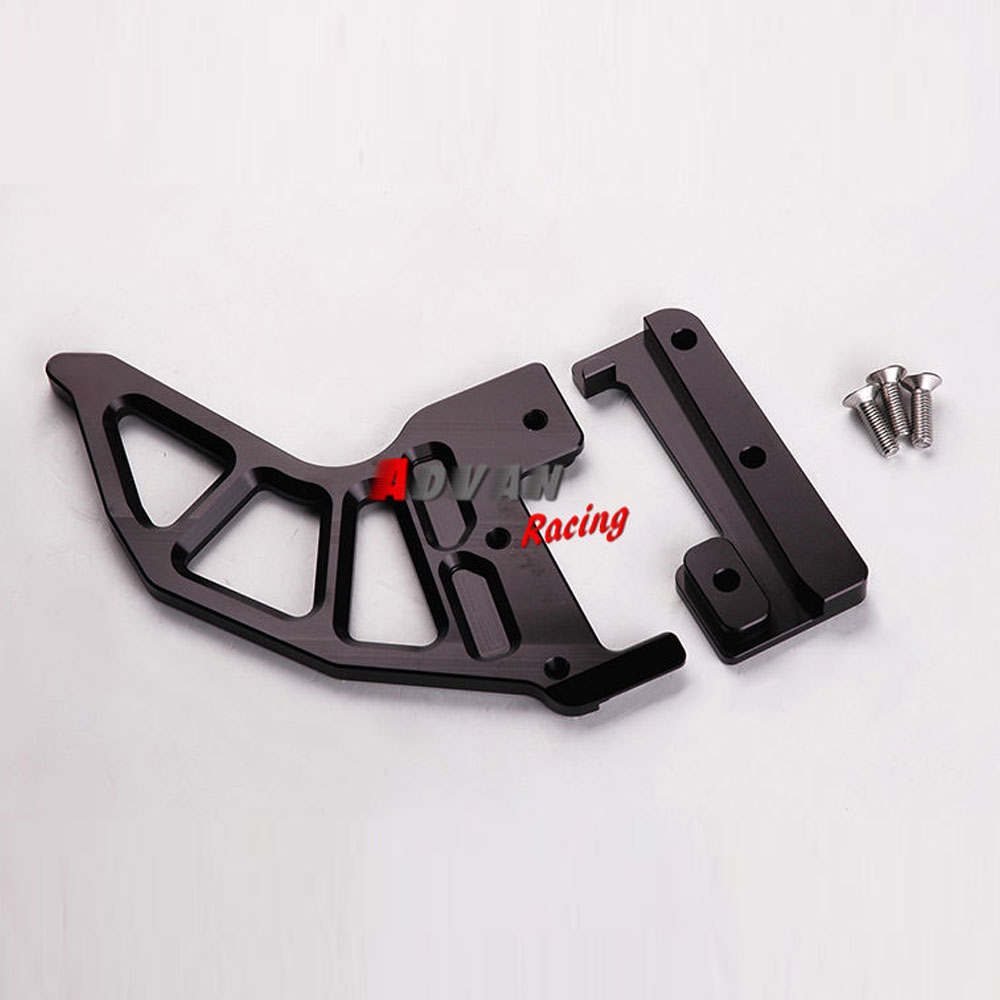 FOR KTM  EXCR &  SX SUPERMOTO &  XCW & XCF-W  BILLET REAR BRAKE DISC GUARD PROTECTOR BLACK for ktm excr