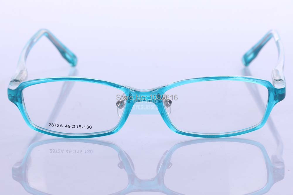 Blue Kids Gles Frames Children Eyegles Frame Spring Temple Eyewear Spectacles Super Light Tr90 Amblyopia In From Men S