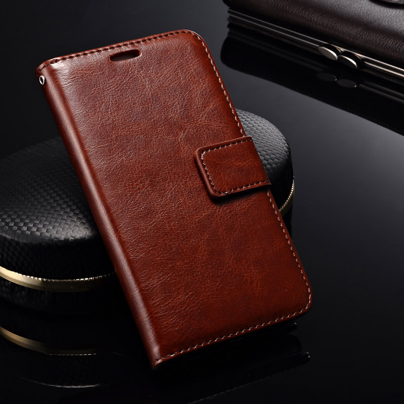 Retro PU Leather Case for Lenovo S660 Phone Wallet Kickstand Flip Cover For Lenovo S660 Cases with Card Slot