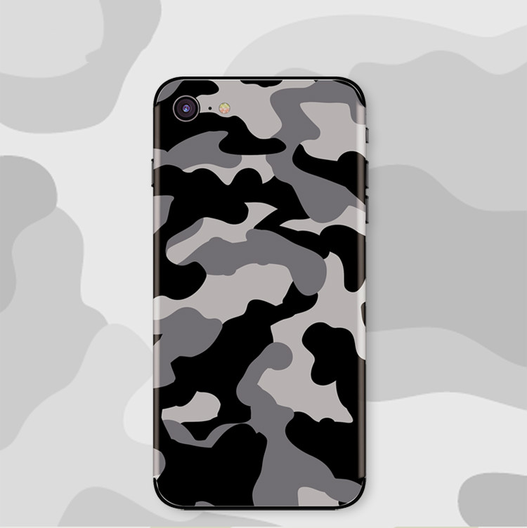 Stickers For IPhone X XS XR XSMAX Film Protective Cover Stickers Phone Sticker Poster Camouflage Series