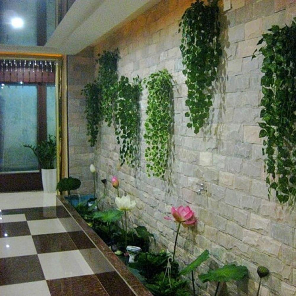 10pcs artificial apple vine leaves vine artificial flowers for Home garden wedding decorations