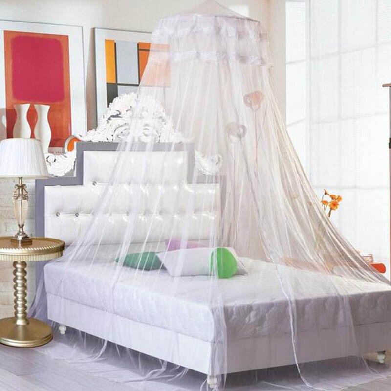 2017 sommer moskitonetze vorhnge betthimmel rund prinzessin klamboe zelt eintrig net cibinlik mosquiteros para cama hause in 2017 sommer moskitonetze - Betthimmel Vorhnge