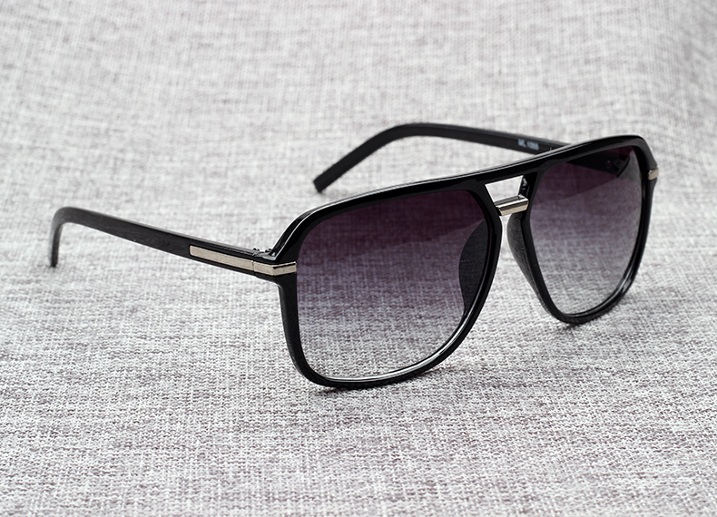New Cool Square Vintage Style Gradient Sunglasses For Men