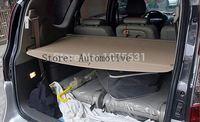 Rear Trunk Security Shield Cargo Cover For Hyundai Santa Fe 7 Seat 2006 2007 2008 2009 2010 2011 2012 (Black, beige)