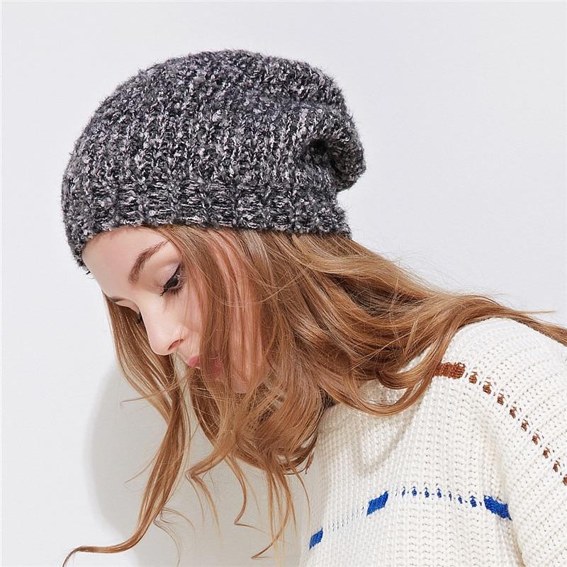 0b39d42b96de61 Xthree cotton winter hat for women girl beanie hat Double deck Knitted Hat  Female spring Women Gravity Falls Cap-in Skullies & Beanies from Women's  Clothing ...
