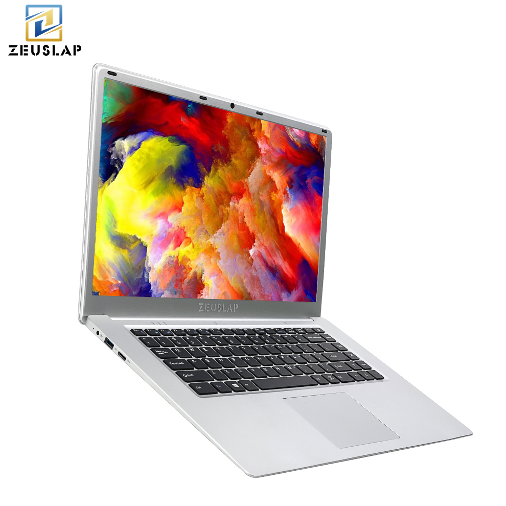 ZEUSLAP 15.6 Inch 1920x1080p Full Hd 6gb Ram 2tb Hdd Windows 10 System Wifi Bluetooth Ultrathin Laptop Notebook Pc Computer