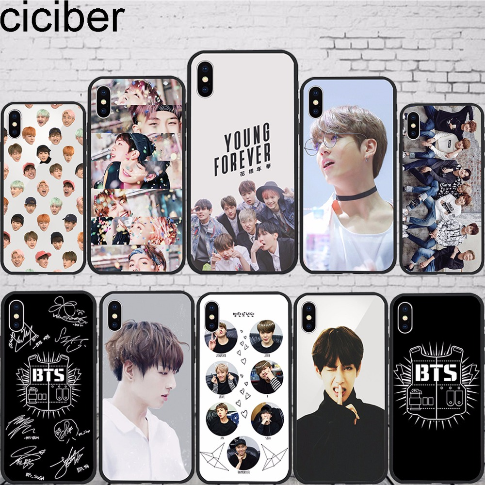 MaiYaCa BTS Jungkook Printed Phone case For iPhone 6 6s Soft
