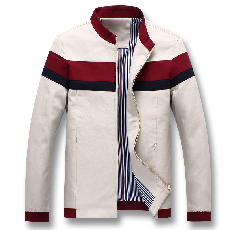 iSurvivor 2019 Men Spring Patchwork Jackets and Coats Jaqueta Masculina Male Casual Fashion Slim Fitted Zipper Jackets Hombre