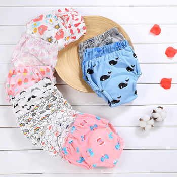 1 cotton baby reusable diaper washable cloth diaper baby child baby cotton training pants underwear 1