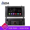 LJDA 1 Din Android 9,1 автомобильный радиоприемник для peugeot 407 2004-2010 автомобильный мультимедийный плеер стерео Авто аудио gps Навигация DVD видео ips