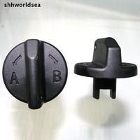 shhworldsea auto plastic fastener car clip screw dia 3.5mm