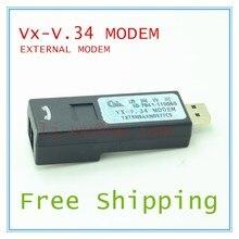 사용 된 verifone VX-V.34 외부 모뎀