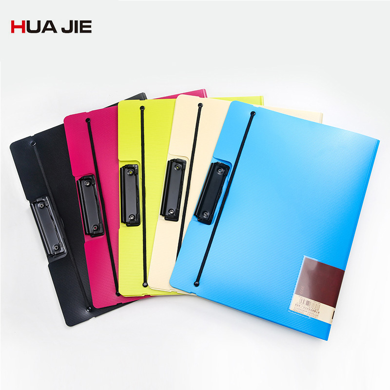 Creative Colorful File Folder Paper File Clip A4 Paper Storage Writing Board Document Folder Office School Stationery XS001