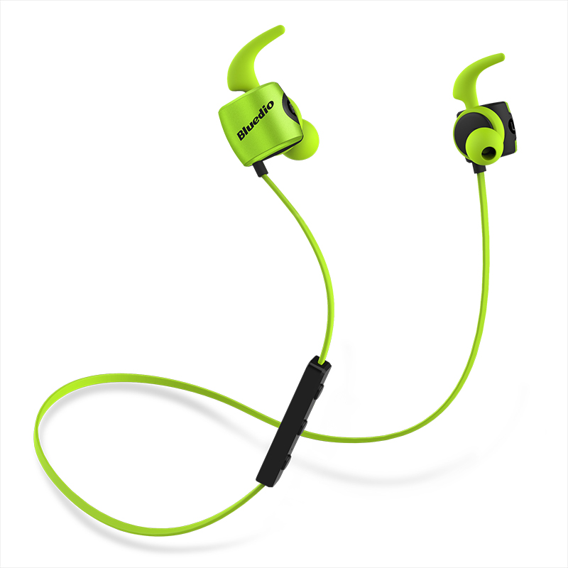 Bluedio TE Sports wireless Bluetooth Earphone with Built-in Microphone Sweat proof in ear Earphone for cell phone colorful style 4
