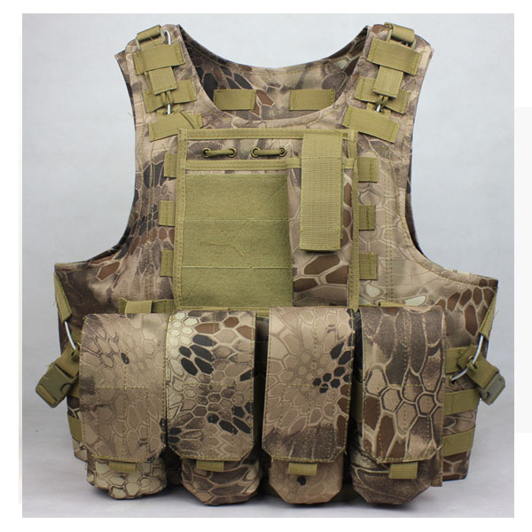 Highlander Airsoft Tactical Vest outdoor products seal Camouflage High quality cs Counterterrorism Military Vest