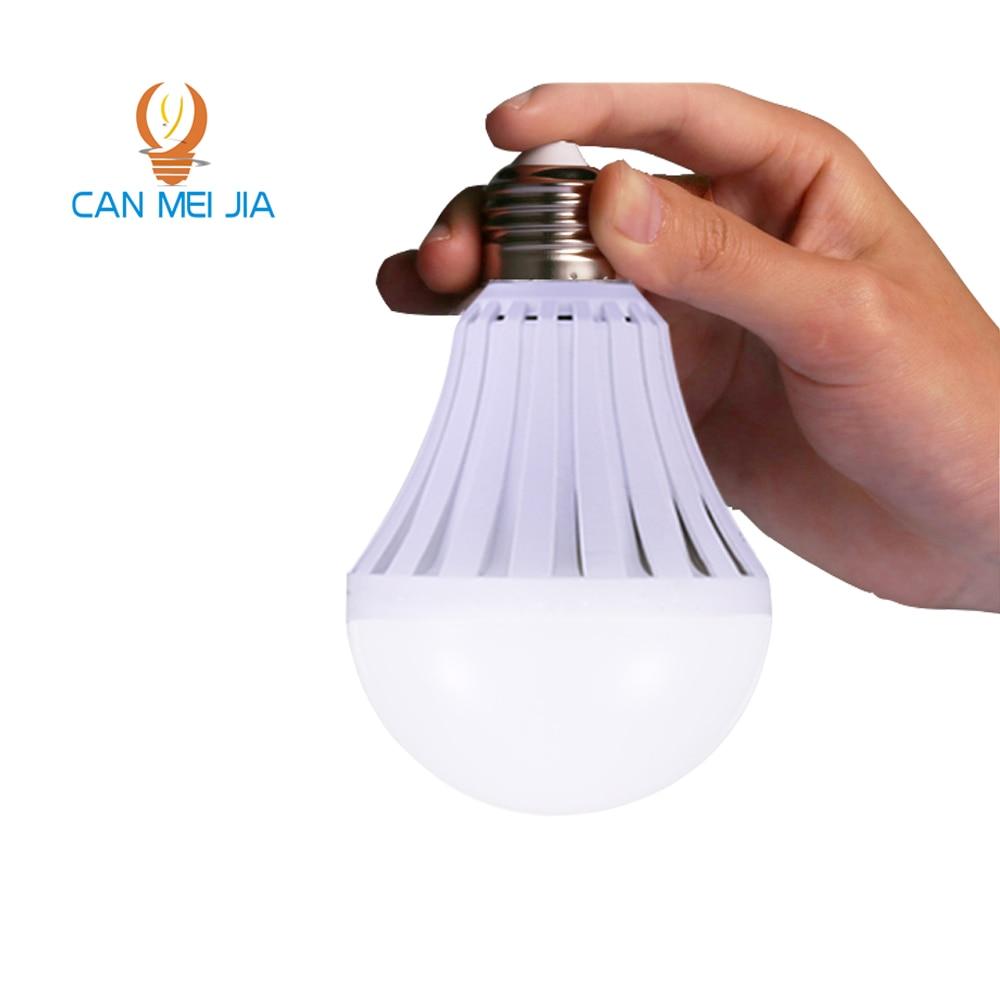 CANMEIJIA LEDs lamp 110V 220V Rechargeable Emergency LED Light Bulbs 5W 7W 9W 12W led Battery Lights Bulb e27 lamps Lighting