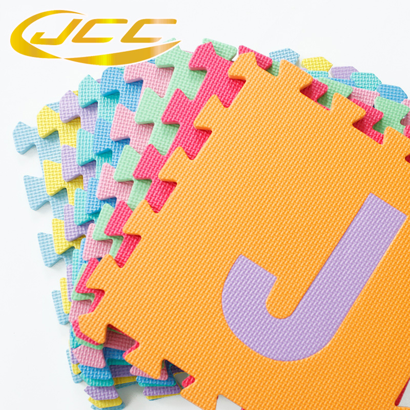 JCC Baby EVA Foam Puzzle Play mat, Interlocking education ABC Tiles ...