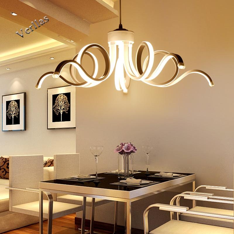 Lamparas de techo ceiling lights plafonnier led moderne for Suspension lustre
