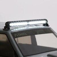 1PC TRX4 LED Roof Lamp 32LED 4.8 7.2V Light Bar High Bright Lights Strip for SUV SCX10 90046 D90 90027 RC Cars Parts