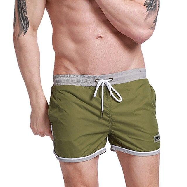 1b40ad87d3c386 DESMIIT brand shorts men board swimming shorts beach swimwear trunks man  bermuda surf shorts swimsuit quick dry liner sweatpants
