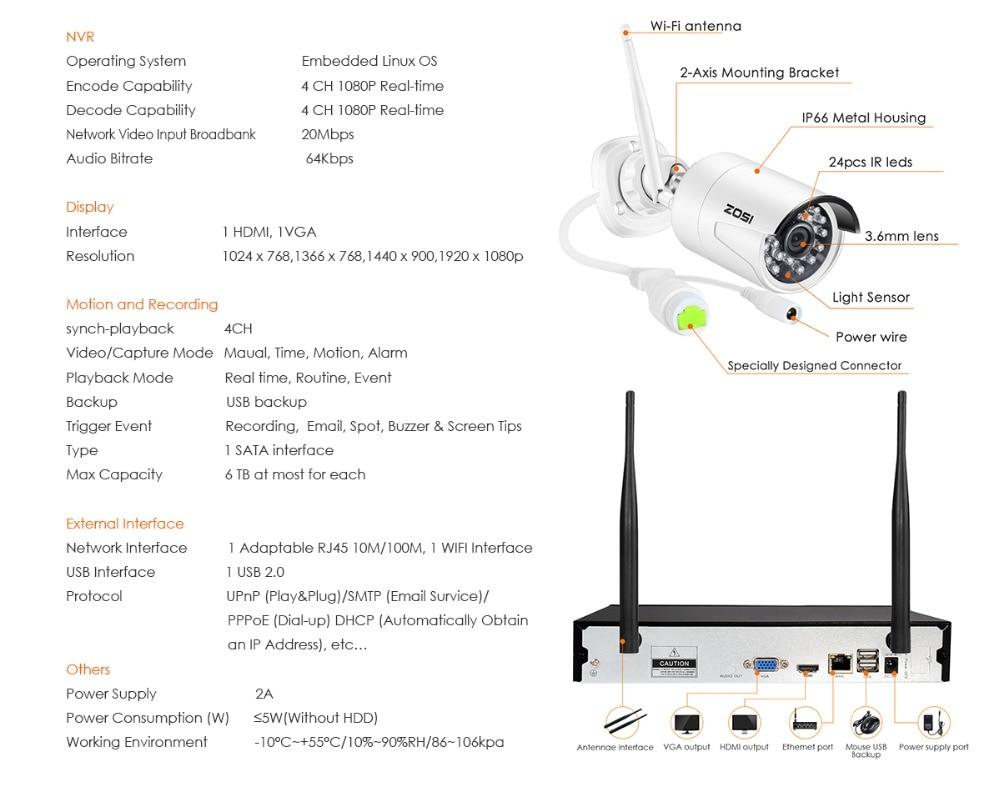 home camera system 1080P+NVR_09