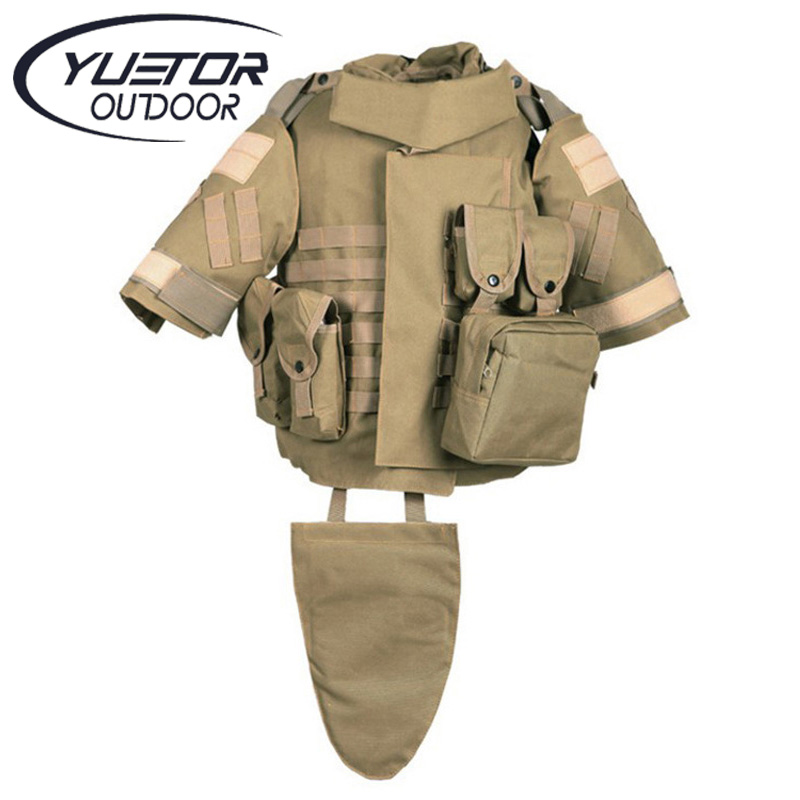 ФОТО YUETOR Outdoor Hunting Men Airsoft Combat Assault Plate Carrier Vest Colete Tatico Militar Tactical Molle Multicam Military Vest