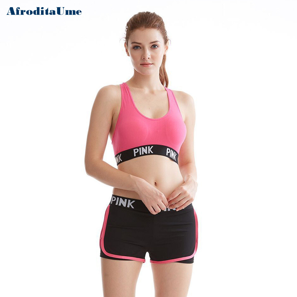 Women Casual Crop Top Cropped Padded Bra Tank Top Vest Fitness Workout Bras 4