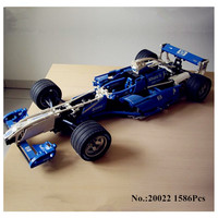 Presell Lepin 20022 1586Pcs Genuine Technic Series The Williams F1 Team Racer Set Educational Building Blocks