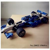 Presell Lepin 20022 1586Pcs Genuine Technic Series The Williams F1 Team Racer Set Educational Building Blocks