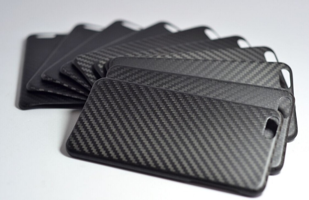 Manufacture Ultra Thin 100% Real Carbon Fiber Case Cover