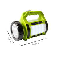Mobile Power Flashlight USB Camping Tent Light Outdoor Caution Portable Hanging Lamp LED Lantern Book Lights 5991C