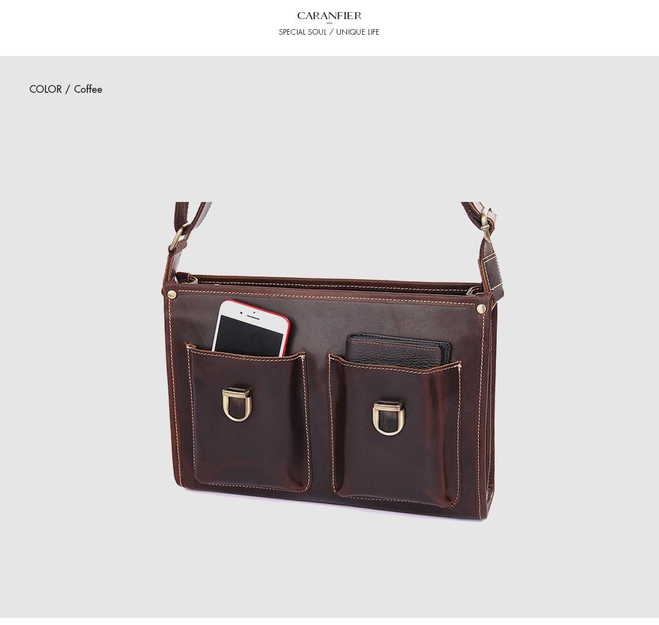 Women Briefcases Genuine Cowhide Leather Vintage Shoulder Bags Weekend Flap Pocket Solid Color Business Messenger Bags