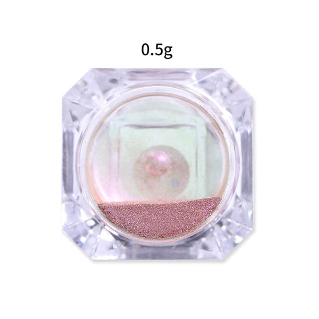 1 boîte 3D yeux de chat magnétique ongles Chrome poudre aimant brillant Nail Art paillettes Pigment poudre coloré ongles paillettes pour ongles