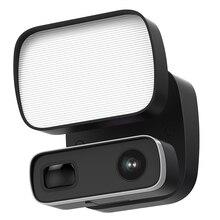 REHENT al aire libre 1080P reflector movimiento de cámara iluminación 1000LM de 2 hablar sirena Color Visión Nocturna HD cámara CCTV de seguridad