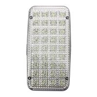 36 LED Car Vehicle Dome Roof Ceiling Interior Light Lamp White Desk Lamps     -